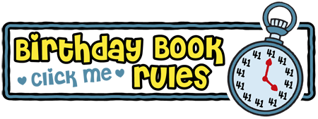 Dave's Birthday Book & Contest Rules